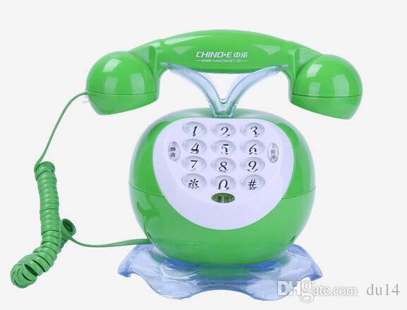 Decoration Arts crafts home Beamio Europe Grade Office Resin Bronze Antique Telephones Hotels Phone Vintage Model