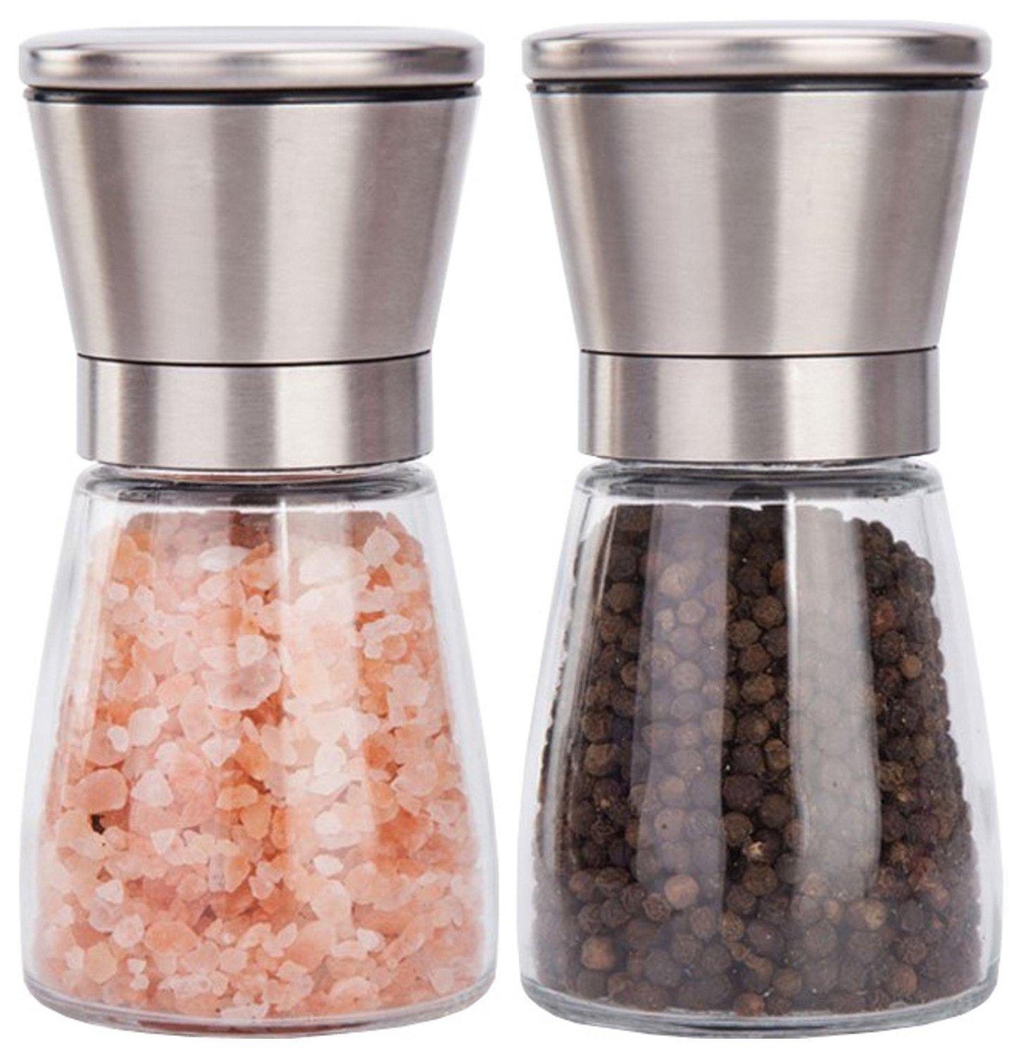 2019 Salt And Pepper Grinder Set Best Salt Pepper Shaker Grinder Red