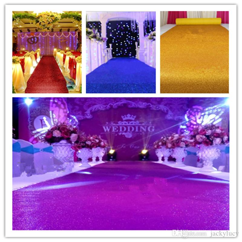 10 M Roll 08 M Wide Shiny Pearlescent Wedding Decoration Carpet T