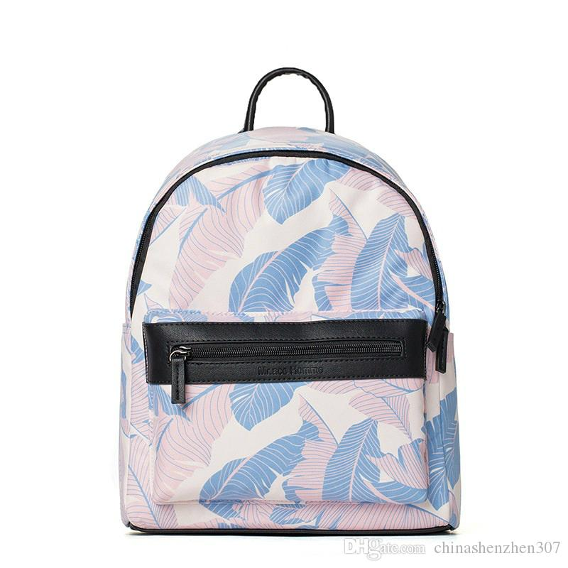 Korean Preppy Style Nylon School Backpacks Girls Female Fresh Style  Shoulder Bag High Quality Cuas School Bags for Teenagers Travel Backpack  Backpack Nylon ... eb1b22a2cbd1d