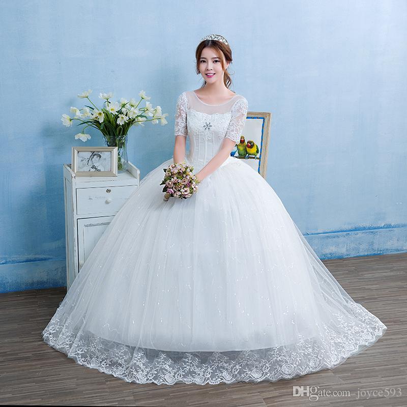 Modern Vintage Lace Wedding Dress Patterns Adornment - Wedding Dress ...