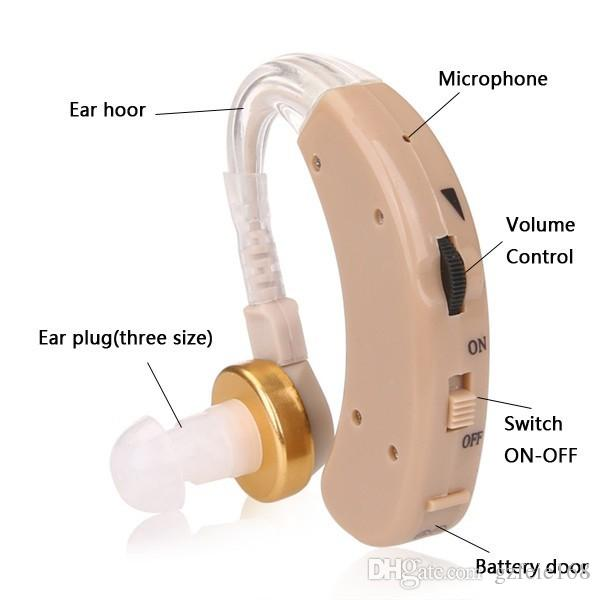2019 Hot sale very cheap price hottest best selling FEIE S-520 BTE hearing aid analog for elderly deaf-aid wireless hearing aid amplifiers