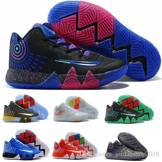 2017 Kyrie Irving Basketball Shoes 4 Men Man Mens Yellow Sale Sport Bhm  Kyries Shoe 4s Iiii Thin Mesh China Brand Sneakers Hombre Kd Basketball  Shoes Shoes ...