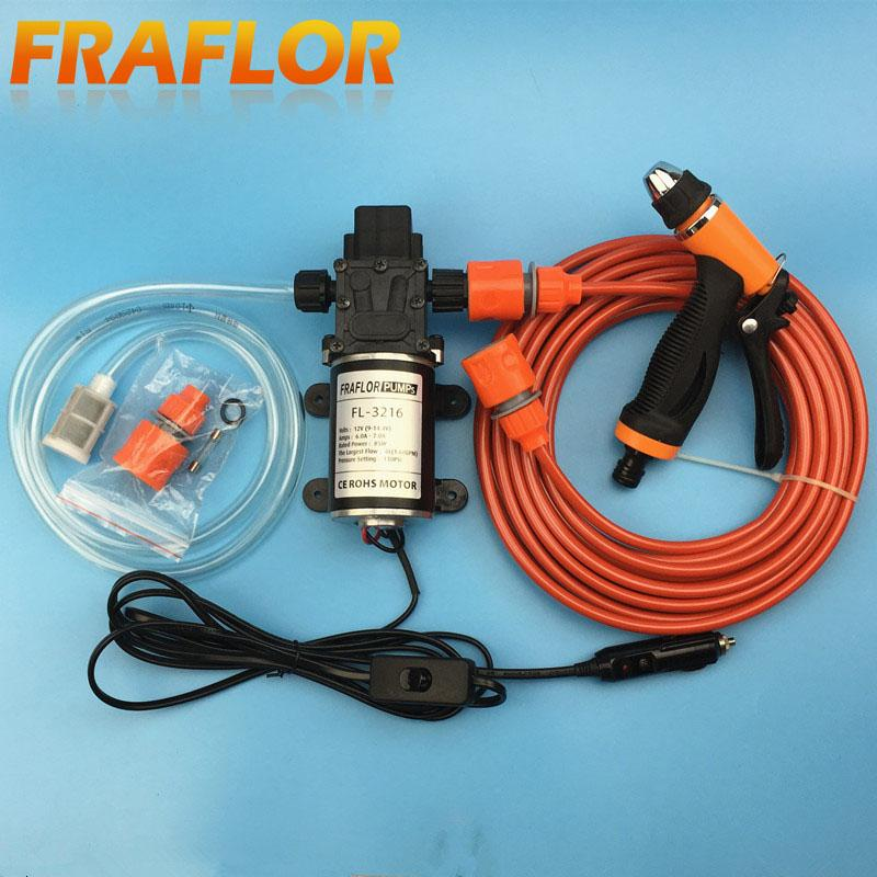 Wholesale- Portable 85W 130PSI High Pressure Car Electric Washer ...