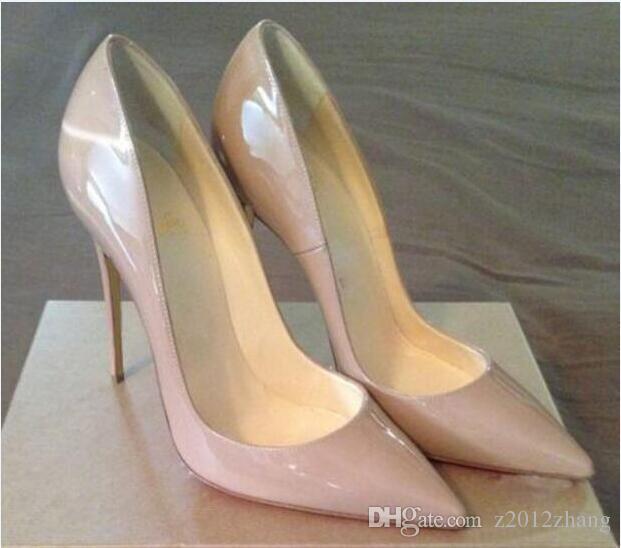 6608a32214cc6 Satın Al Marka Kadınlar Mavi Ayakkabı Pompaları Kadın Yüksek Topuklu Seksi  Düğün Ayakkabı Moda Sivri Burun Kadın Ayakkabı Gelin Chaussure Femme, ...