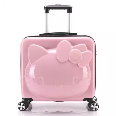 c6ba12607 2017 New Girl Baggage, Hello Kitty Suitcase, Children Trolley Case, Luggage  Cart, Cartoon Single And Suit Canada 2019 From Dh281360848, CAD $150.40 |  DHgate ...