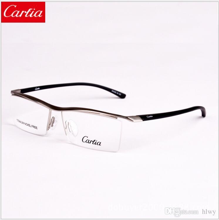 e54607a23ae CA8189 Carfia Eyeglass Frames Titanium Designer Eyeglass Frames New ...
