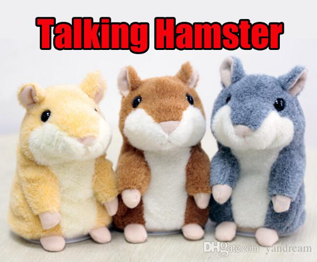boy girl gift kids toys Factory direct Russian talking hamster scholar talking recording hamster mouse plush toy Christmas gift toy
