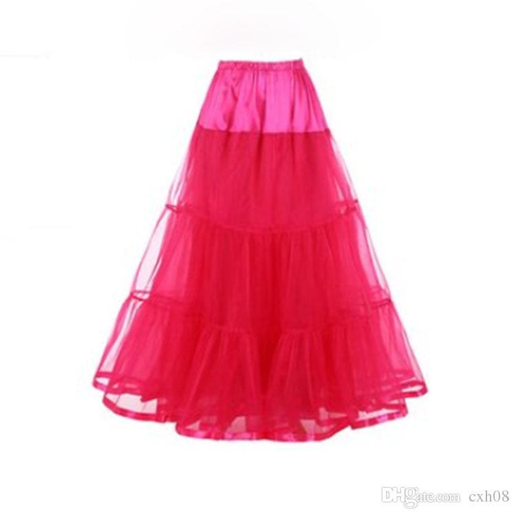 New Fashion Hochzeit Petticoat Rock kein Hochzeitskleid Rock Rock Knochen Unterstützung eingebaut.