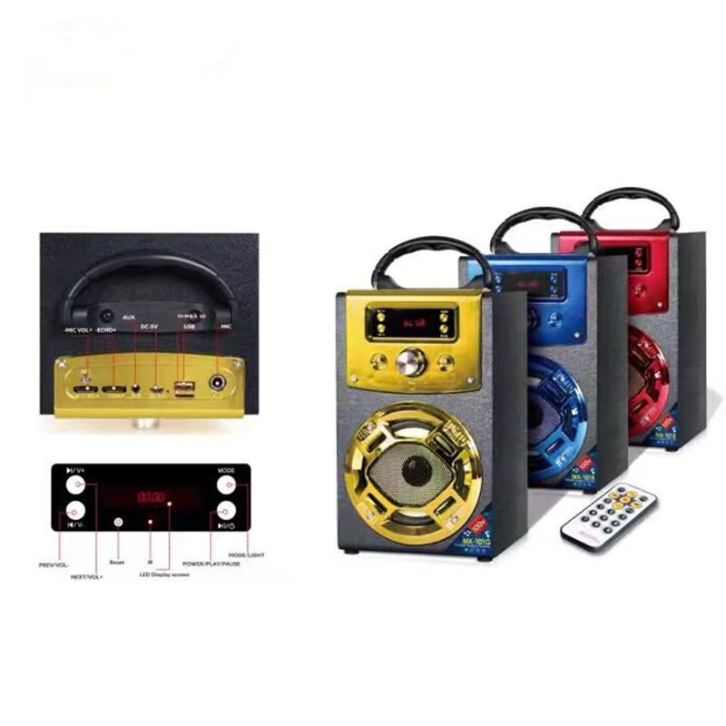 Bluetooth Speaker Mx101 Wireless Stereo Outdoor Big Bluetooth ...
