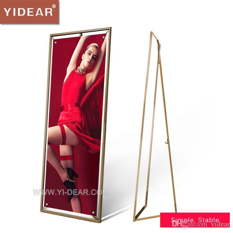 Compre Yidear 60x160cm Soporte Para Soporte De Exhibición Del Marco ...