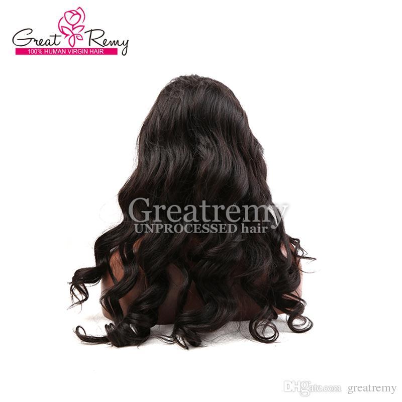 Afro-amerikan insan saçı peruk dantel ön peruk siyah kadınlar için ucuz doğal Gevşek vücut dalga brezilyalı tam dantel peruk