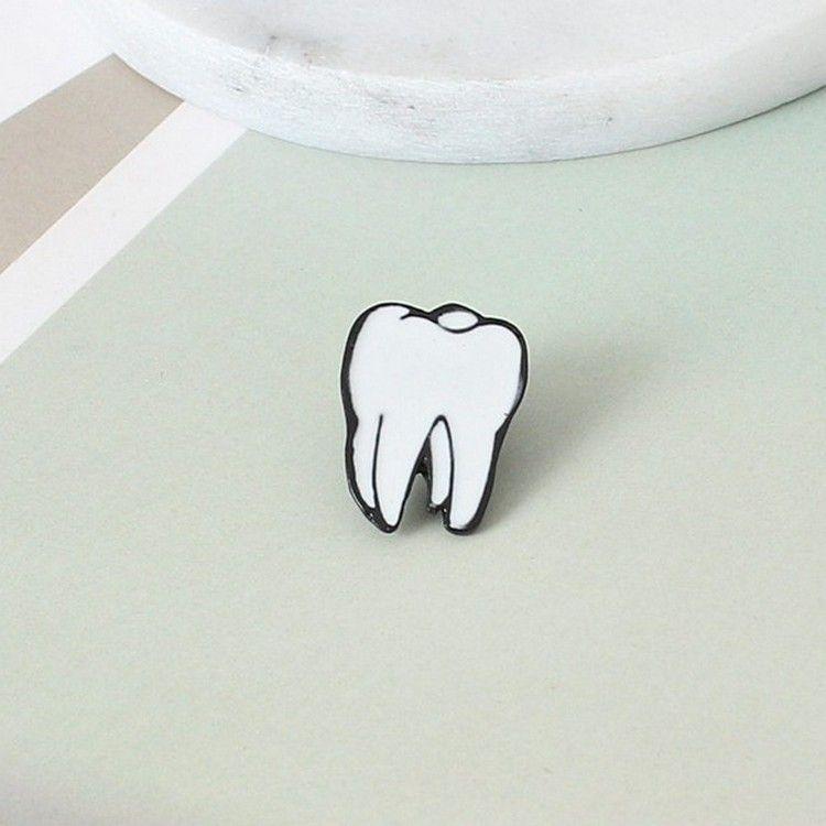 Couleur Gouttes Organe Humain Broches Cœur Cerveau Oeil des dents organe Broche Accessoires Gros gros livraison gratuite