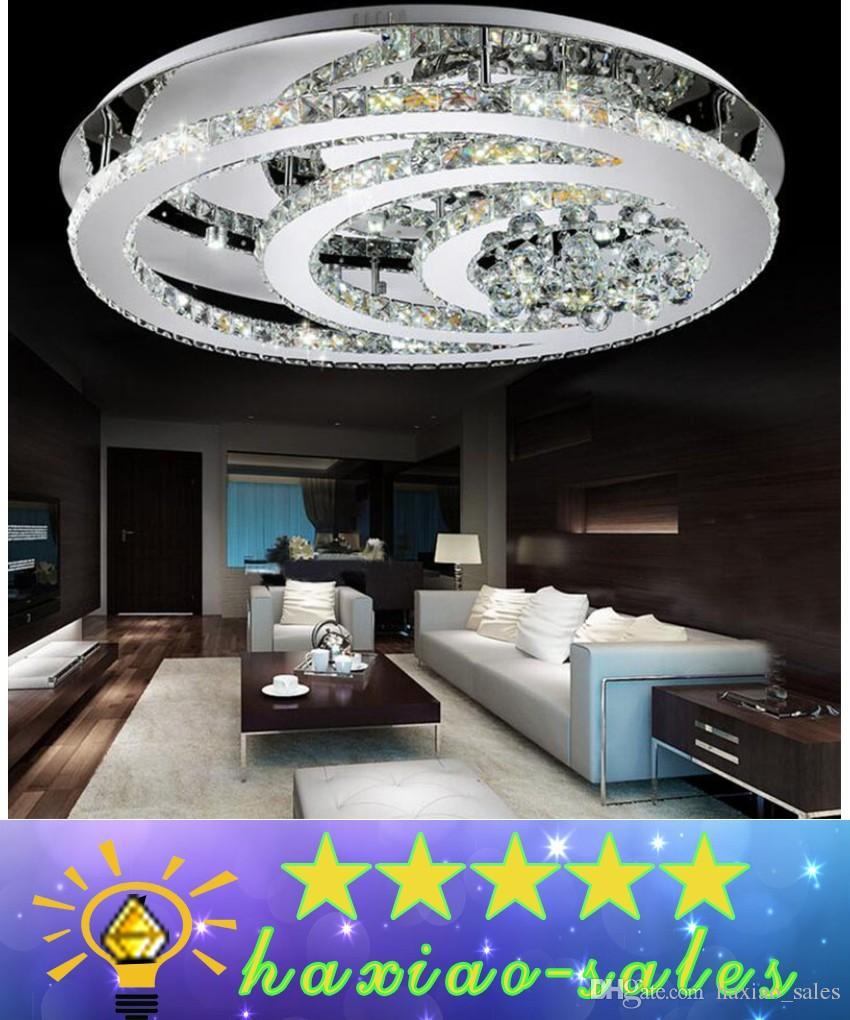New2017 Design K9 Crystal Led Chandelier Ceiling Lights For Living ...