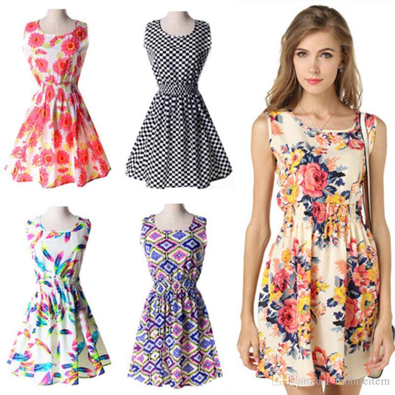 e25cb7392e Cheap Floor Length Ombre Chiffon Dress Best Plus Size Dress Elegant Chiffon