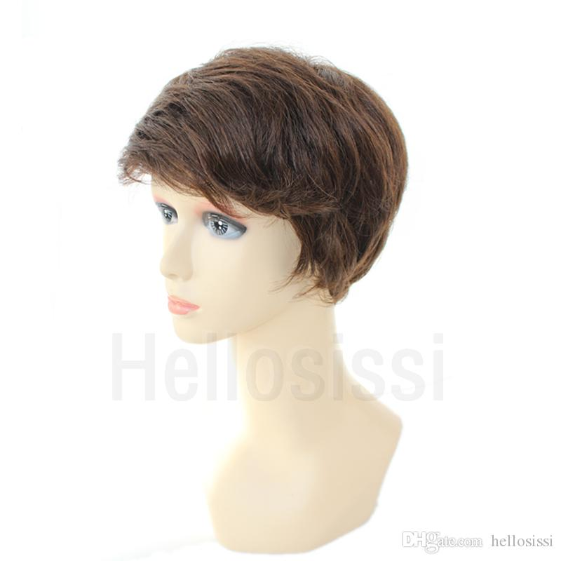 Glueless Full Lace Front Human Short Hair Bob Wigs For Black Women Short Lace Front Human Cut Hair Wigs With Bangs