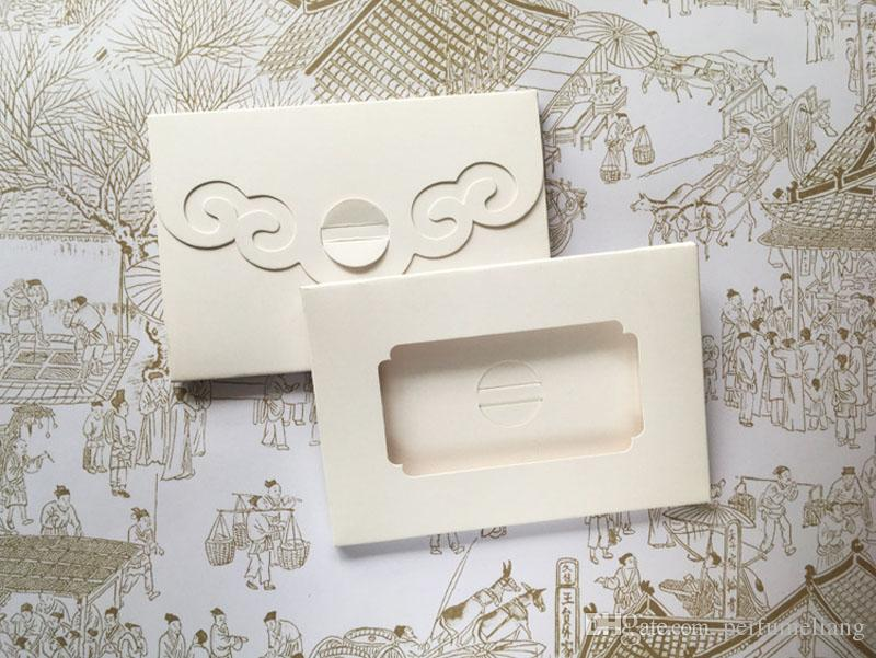 """4""""x6"""" foldable Postcard packaging Boxes, photo window boxes,greeting card kraft boxes size 15*10.2*0.5cm ZA5070"""