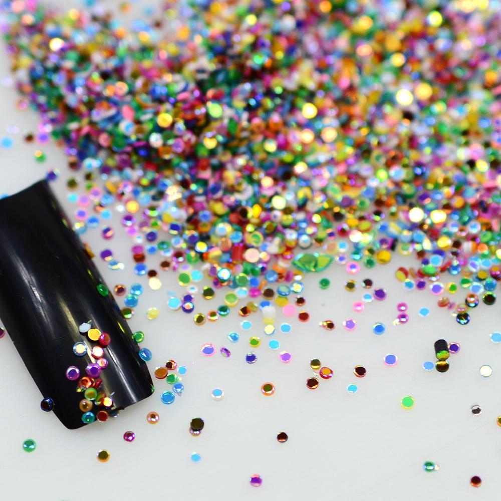 Wholesale Hot Sale 2g Mix Colors Acrylic Nail Art Glitter Powder ...