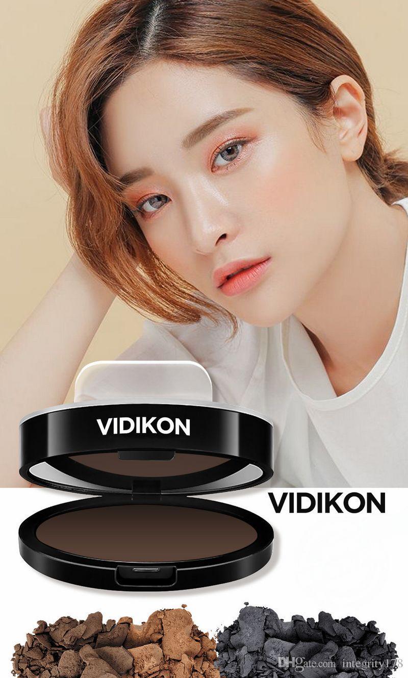 Vidikon Augenbraue Pulver Stamper Augenbraue 5.5g # 1 dunkelgrau, 2 # hellbraun, hellbraun 3 # / DHL frei