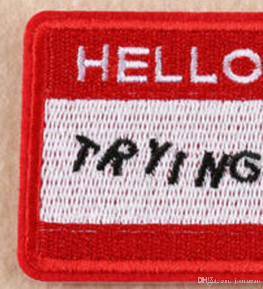 Nakış Yama Dikmek Üzerinde Demir Göğüs Yama Aplike Nakış On Giyim Sticker Ceket Şapka Jean
