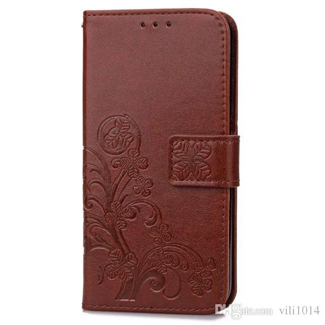 Trevo de quatro folhas caso para lg g3 capa LG G3 Stylus Flip carteira caso LG G3 capa telefone Coque Hoesjes PU couro
