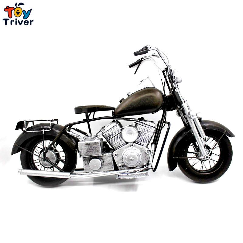 2017 Home Office Shop Decor Handmade Vintage Craft Limited Harley Motocycle  Car Model Creative Boyfriend Valentineu0027S Gift Toy From Love6love, ...
