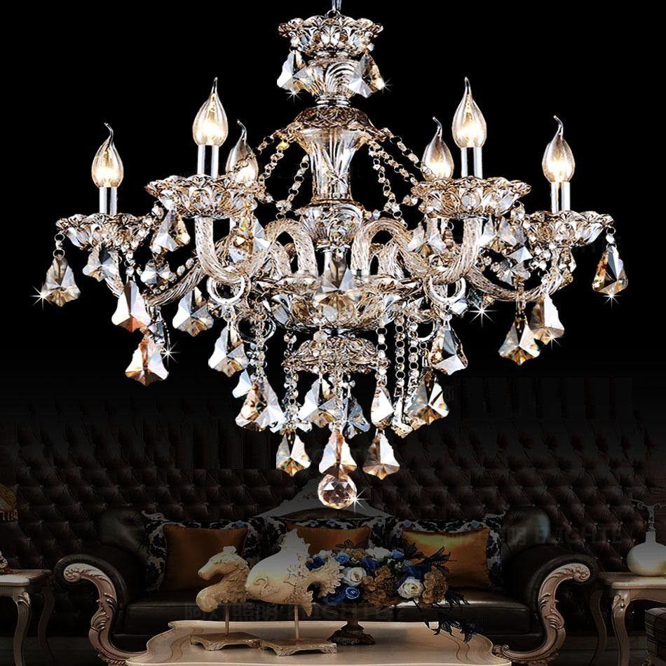 Lampadario Moderno Lampadario di cristallo Lampadario di luce Illuminazione di cristallo Illuminazione Soggiorno camera da letto apparecchi di illuminazione sala da pranzo