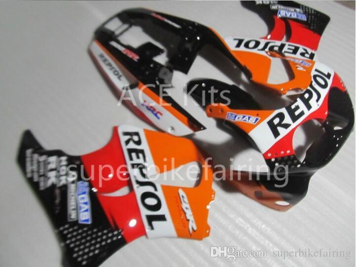3 cadeaux gratuits pour HONDA CBR900RR 91 92 93 94 95 CBR 900RR 893 1991 1992 1995 Carénages Orange noir Rouge AS2