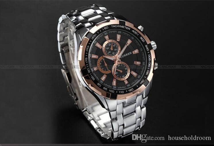 3a1c65e6f7b 10 Styles CURREN Watches Men Quartz Top Brand Analog Military Male Watches  Men Sports Army Watch Waterproof Wristwatches Watches Online Skeleton Watch  From ...