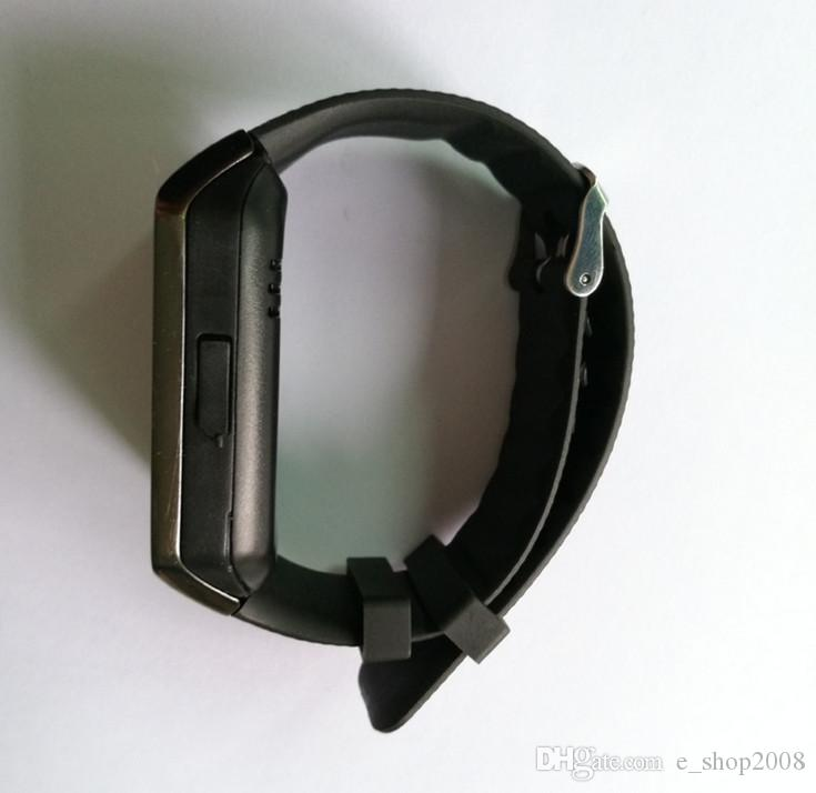 DZ09 Apple Samsung IOS Android Için Bluetooth Smart İzle Smartwatch Cep Telefonu 1.56 inç
