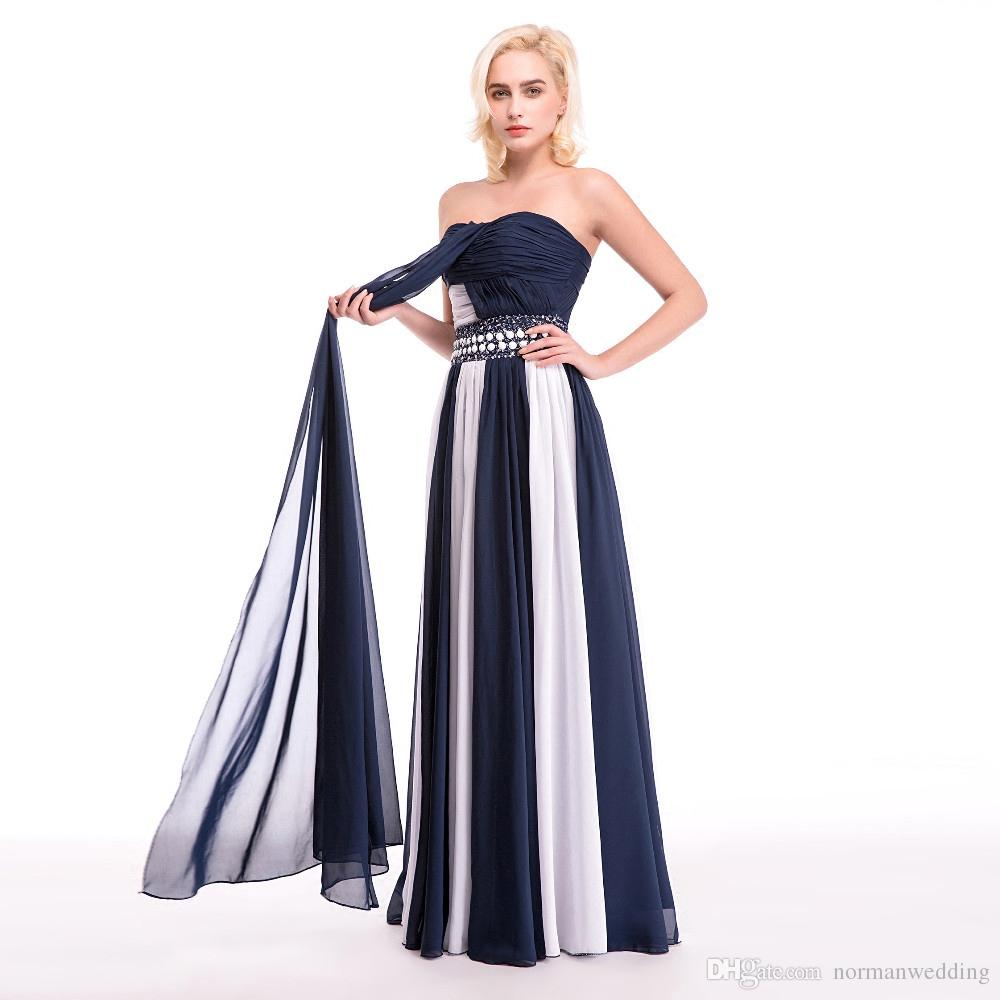High Quality Custom Made Ruched Beaded Crystal Cheap Prom Dresses