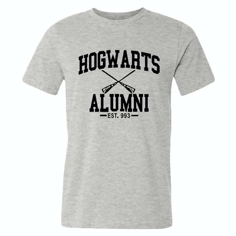 New Novelty Design Hogwarts Alumni T Shirt Men Women Harry Funny