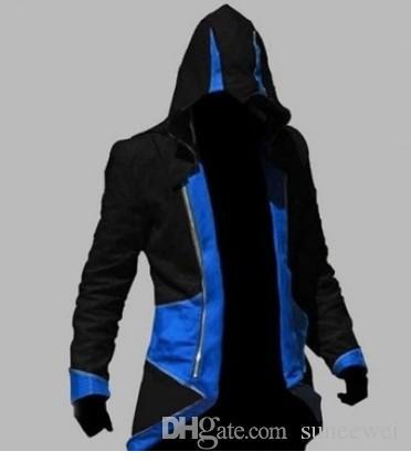 Assassins Creed III Conner Jacket umfasst 9 Farben
