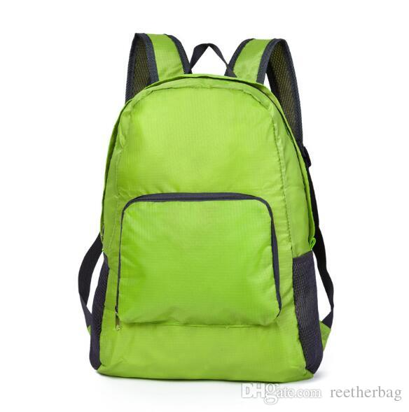 Foldable Lightweight Waterproof Travel Backpack Hiking Bag Outdoor Camping  Sports Hiking Folding Pack Beach Nylon Backpack Beach Bags Mesh Backpack  Justice ... f117da49ca