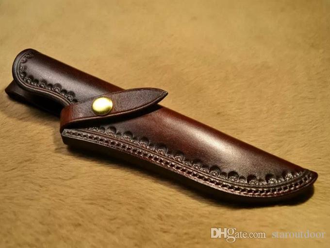 أحدث باوي بيثون ii d2 نصل السكين الثابتة 60hrc التكتيكي التخييم التنزه أدوات الصيد بقاء سكين العسكرية k غمد هدية مربع مجموعة