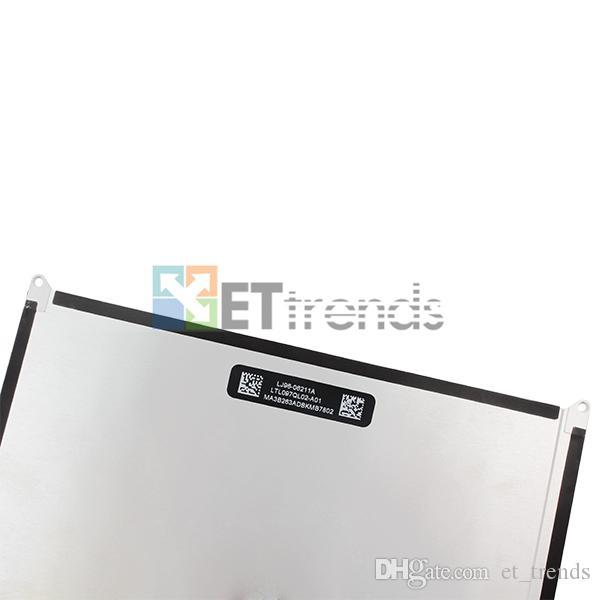 100% Original Novo LCD para o iPad Air Tela LCD DHL frete grátis AA0019