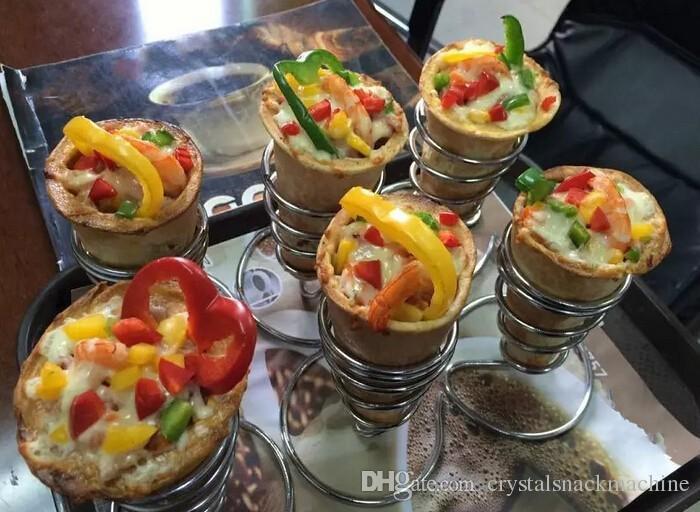 Popolare Pizza Cone Machine Cono Pizza Oven Commercial Pizza Cono Forno di cottura sano Snack Food Machine