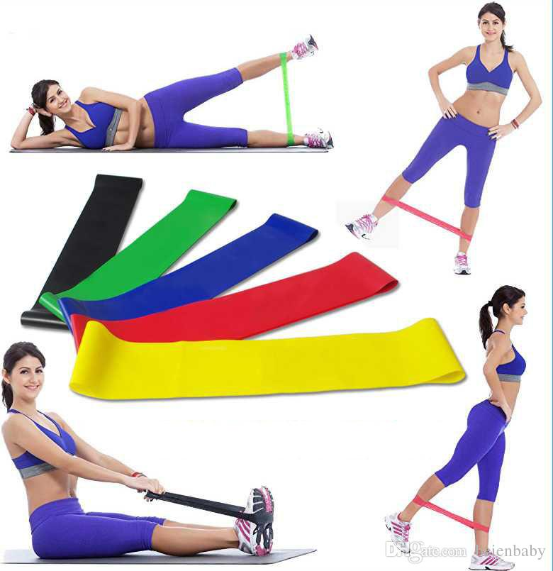 Natural Latex Pull Up Assist Band Fitness Resistance Band CrossFit Yoga Exercises Looped for 15-45Lbs Training Equipment