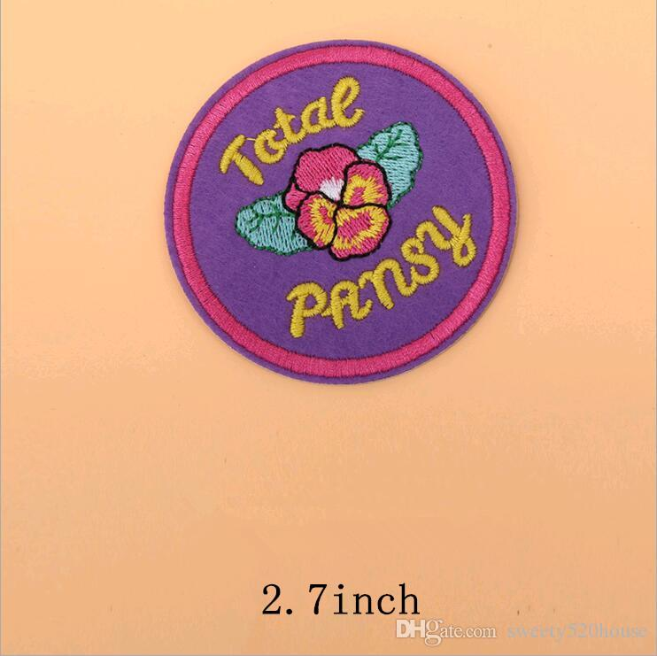 Gestickte Blume Applique Patches 8 Stücke Nähen Eisen Patch Abzeichen Tasche Kleidung Applique DIY Kleidung Nähen Handwerk Hand