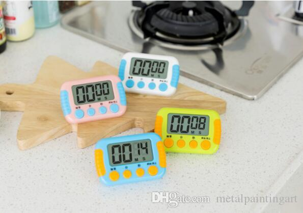 2018 Multi Colors Novelty Digital Kitchen Timer Kitchen Helper Mini Digital  Lcd Kitchen Count Down Clip Timer Alarm From Metalpaintingart, $1.32 |  Dhgate.