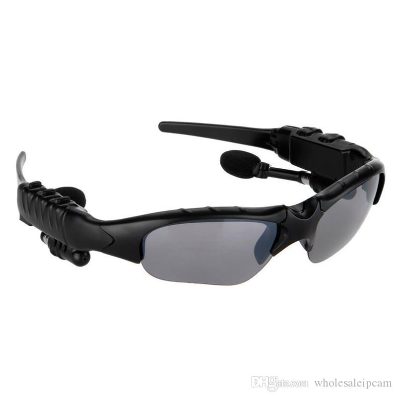 Sport Kopfhörer Wireless Bluetooth Sonnenbrille Headset Sunglass Stereo-Freisprecheinrichtung Kopfhörer Music Player für iPhone Samsung
