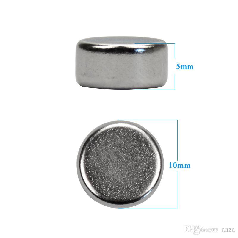 원판 10mm x 5mm 자석 10 * 5MM 희소 한 지구 네오디뮴 자석 원형 기술 모형 Neodimio Magnet 작은 자석