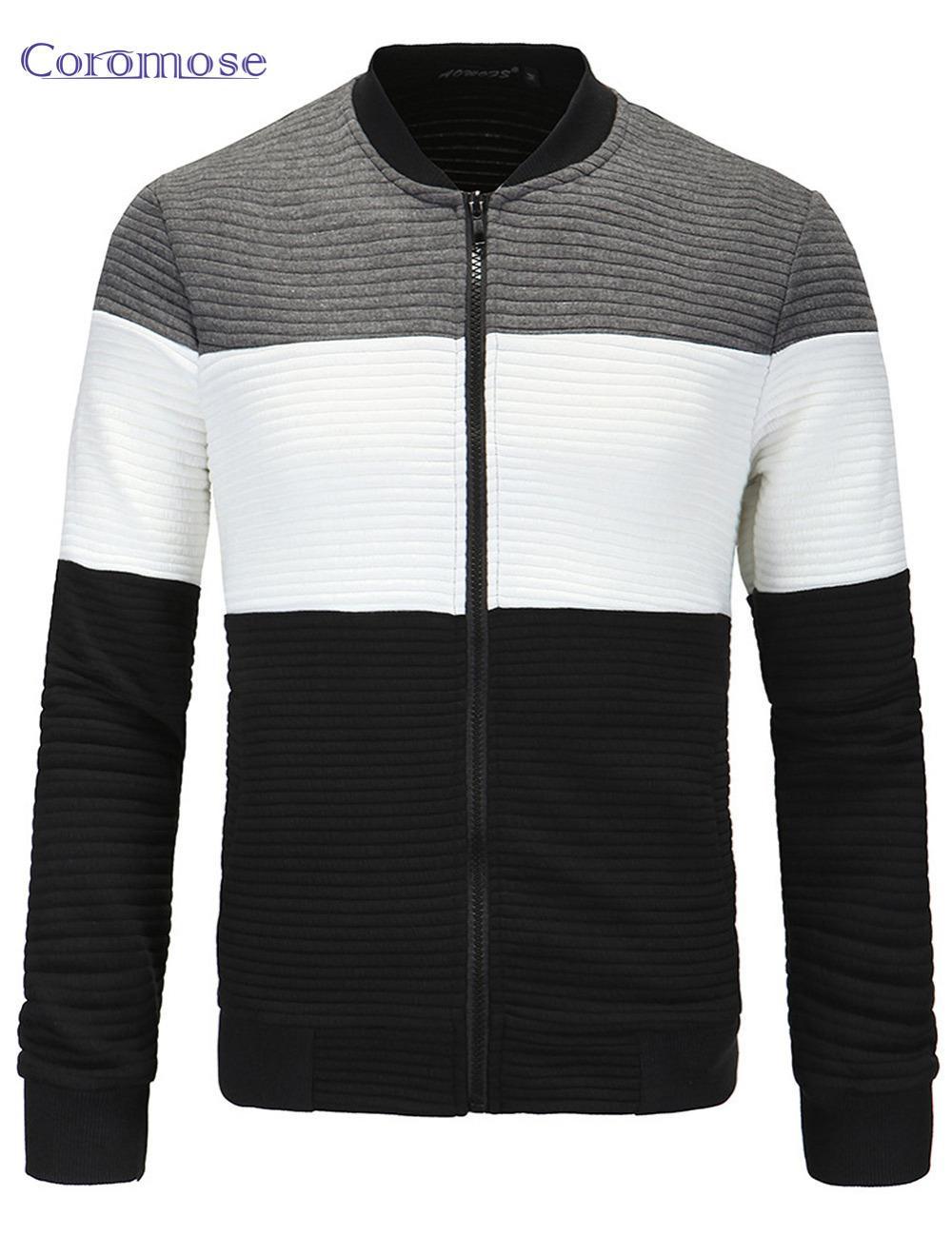 Wholesale- Coromose Men Jacket 2017 Autumn Spring Brand Clothing ... c505ea82c