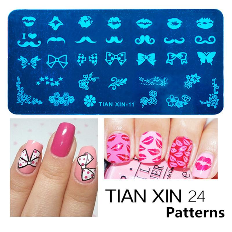 Wholesale Stamping Nail Art Steel Konad Plates Stamp Manicure ...