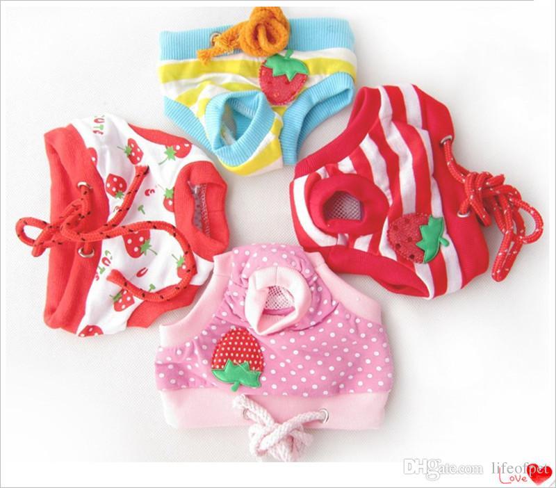 Hot Product Female Physiological Menstrual Hygiene Pants Estrus Underwear Hondenkleding Pet Cat Dog Clothes