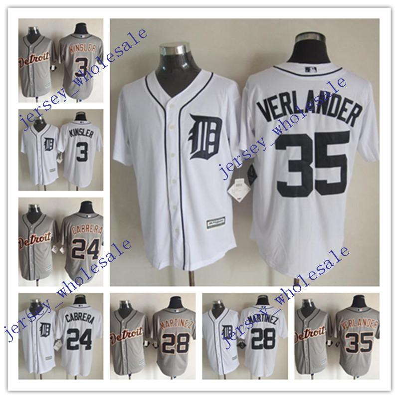 a1f2c0fddcf ... discount code for 2017 new cool base detroit tigers mlb jersey 3 ian  kinsler 24 miguel