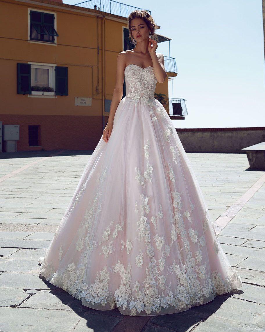 Blush Champagne Wedding Dresses