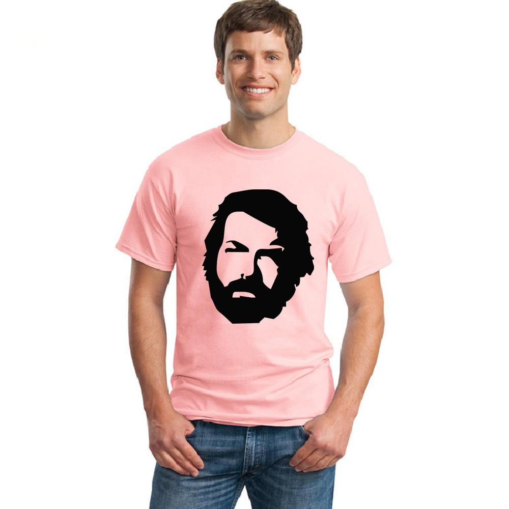 Summer T Shirt New Memorial Bud Spencer For Men Casual Loose Printed Shirts Short Sleeve Tshirt Homme Tees Online Shopping Artistic