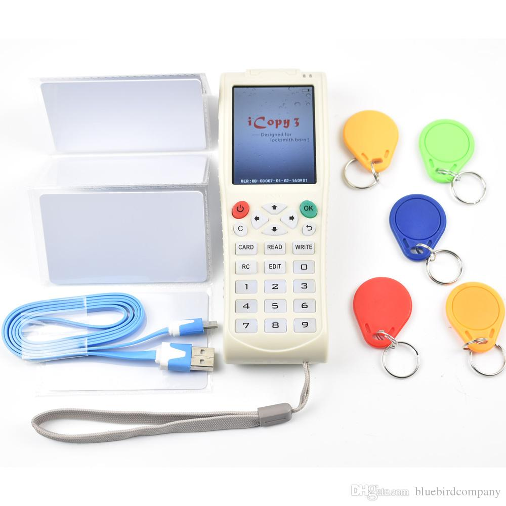 New Arrival Key Machine iCopy 3 with Full Decode Function Smart Card Key Machine RFID NFC Copier IC/ID Reader/Writer Duplicator