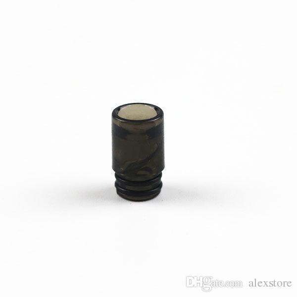 Штопор спин пластиковый капельного наконечника 4 цвета дешевый мундштук для tfv8 baby и 510 поток распылитель бак vape ecig